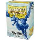 Протекторы Dragon Shield (100 шт., 63х88 мм): матовые синие