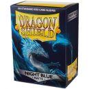 Протекторы Dragon Shield (100 шт., 63х88 мм): матовые тёмно-синие