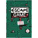 "Книга-игра ""Escape game: Три захватывающих квеста в одной книге"""