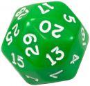 Кубик D30 непрозрачный, зеленый