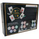 Фабрика Покера: Набор из 200 фишек для покера с номиналом в черном кейсе