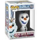 Фигурка Funko POP! Frozen 2: Olaf with Bruni