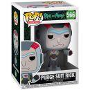 Фигурка Funko POP! Rick and Morty: Purge suit Rick