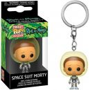 Брелок Funko POP! Pocket Keychain. Rick and Morty: Space suit Morty