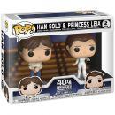 Набор фигурок Funko POP! Star Wars. Empire Strikes Back: Han Solo and Princess Leia
