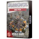 Blood Bowl: Ogre Team Pitch and Dugouts