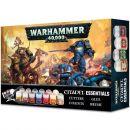 Набор Красок: Warhammer 40,000 Citadel Essentials Set