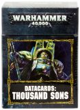 Datacards: Thousand Sons 8th edition