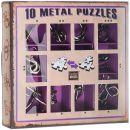 Набор головоломок 10 Metal Puzzles, фиолетовый