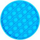 Игрушка-антистресс Pop It Круг (голубая)