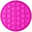 Игрушка-антистресс Pop It Круг (розовая)