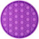 Игрушка-антистресс Pop It Круг (фиолетовая)