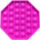 Игрушка-антистресс Pop It Восьмиугольник (розовая)