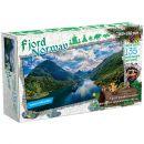 """Фигурный деревянный пазл """"Travel collection. Фьорды, Норвегия"""""""