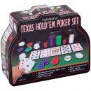 """Набор """"Покер"""" в жестяной банке"""