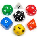 """Набор кубиков """"Симпл"""", для RPG, разноцветный"""