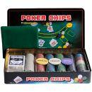 Набор для покера Holdem Light на 300 фишек с номиналом
