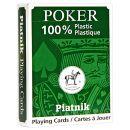"""Игральные карты """"100% Пластик"""" стандартный индекс (54 листа)"""