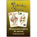 """Игральные карты """"Рококо"""" (36 листов)"""