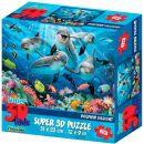 """Пазл Super 3D """"Дельфиний восторг"""""""