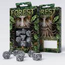Набор кубиков Forest 3D, 7 шт., White & black