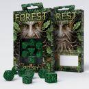 Набор кубиков Forest 3D, 7 шт., Green & black