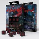 Набор кубиков Cyberpunk Red Essential, 6 шт.
