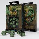 Набор кубиков Celtic 3D Revised, 7 шт., Black/Green