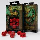 Набор кубиков Celtic 3D Revised, 7 шт., Red/Black