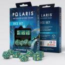 Набор кубиков Polaris RPG, 7 шт, Turquoise/Light yellow
