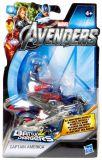 Мстители. Фигурка на транспортном средстве Captain Amerika