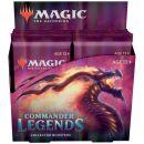MTG. Commander Legends - дисплей коллекционных бустеров на английском языке