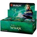 MTG. War of The Spark - дисплей бустеров на английском языке