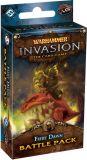 Warhammer. Invasion LCG: Fiery Dawn battle pack
